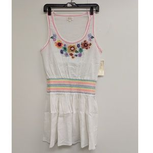 Shoshanna Rainbow Floral Tank Dress